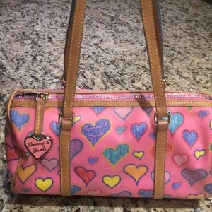 💖Dooney & Bourke Pink Heart Shoulder Bag